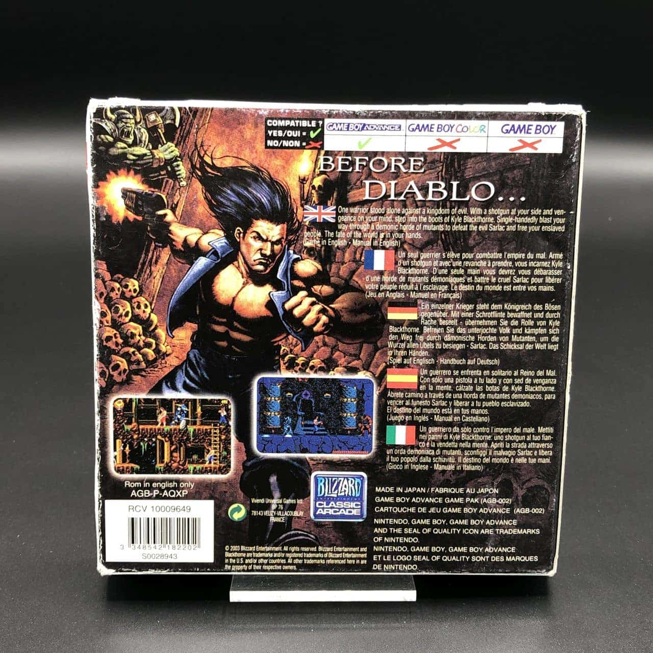 GBA Blackthorne (Komplett) (Gut) Nintendo Game Boy Advance