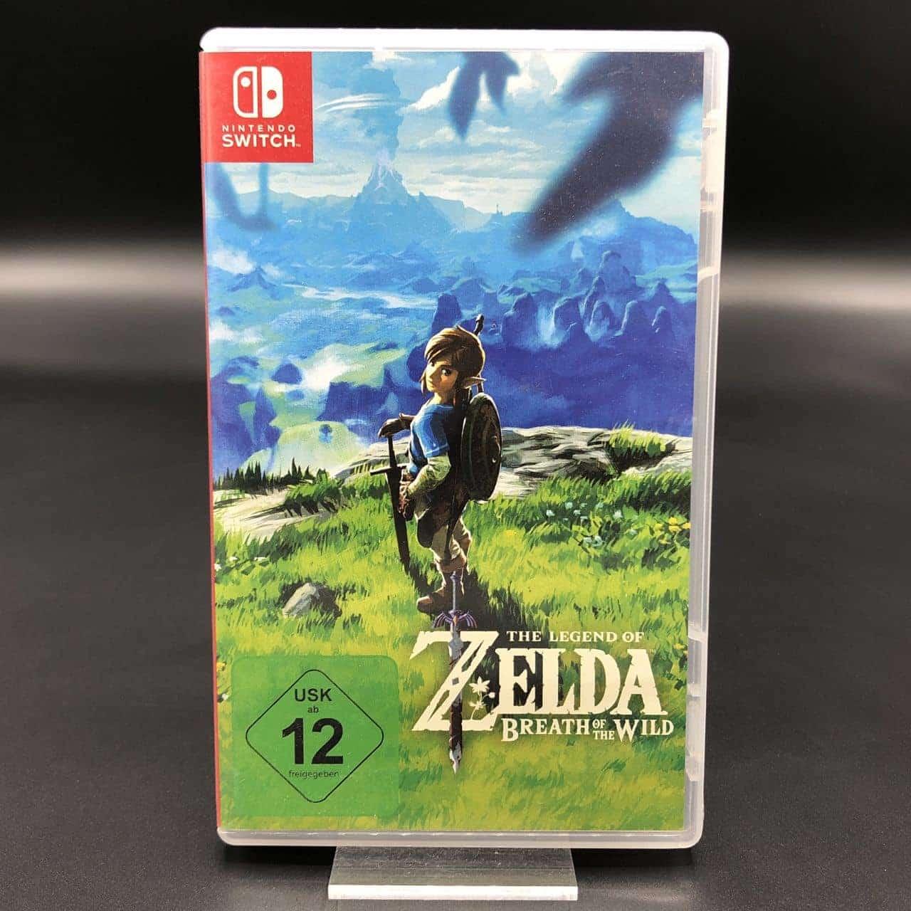The Legend of Zelda: Breath of the Wild (Sehr gut) Nintendo Switch