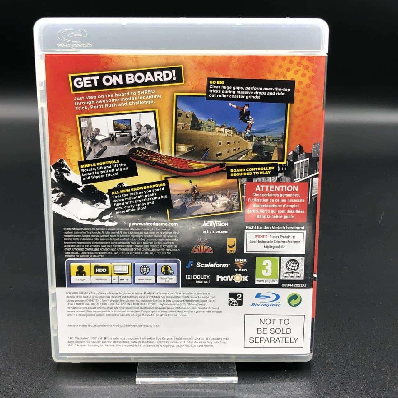 PS3 Tony Hawk: Shred (Komplett) (Sehr gut) Sony PlayStation 3