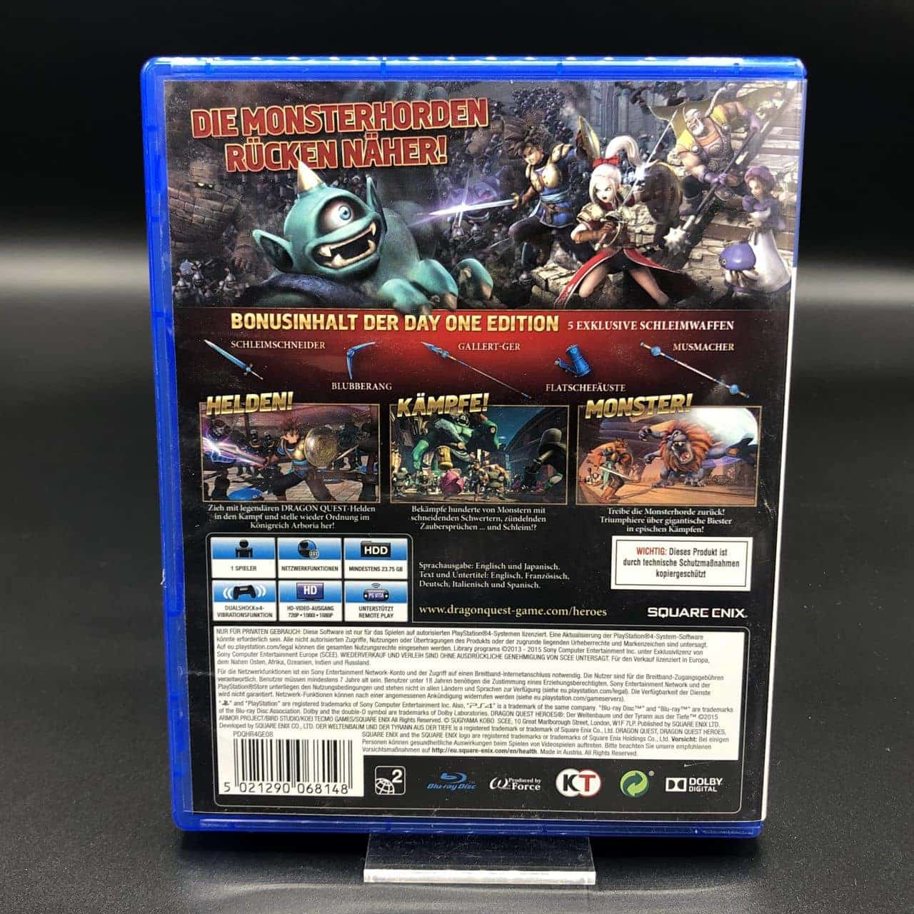 PS4 Dragon Quest Heroes (Day One Edition) (Sehr gut) Sony PlayStation 4
