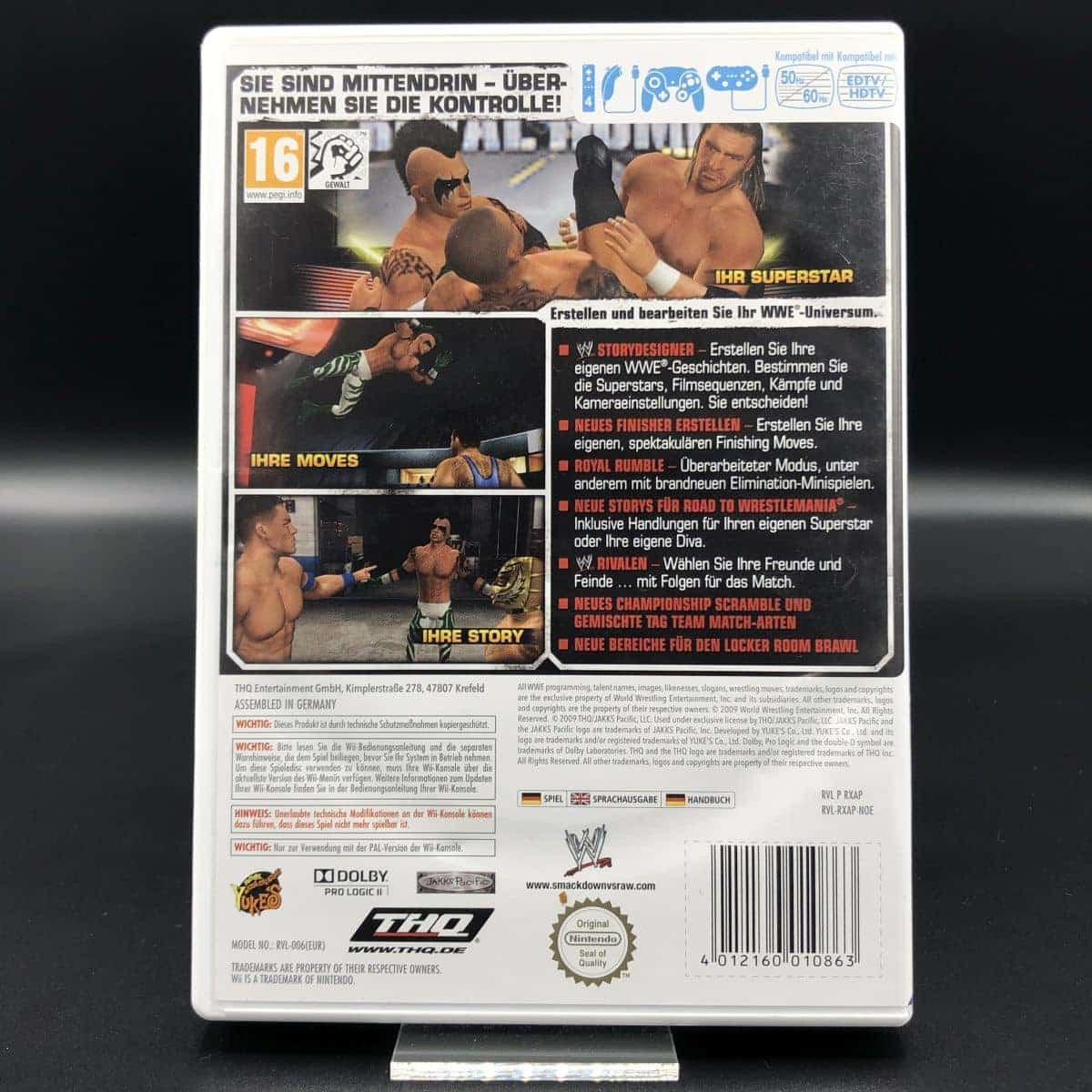 WWE SmackDown vs. Raw 2010 (Komplett) (Gut) Nintendo Wii