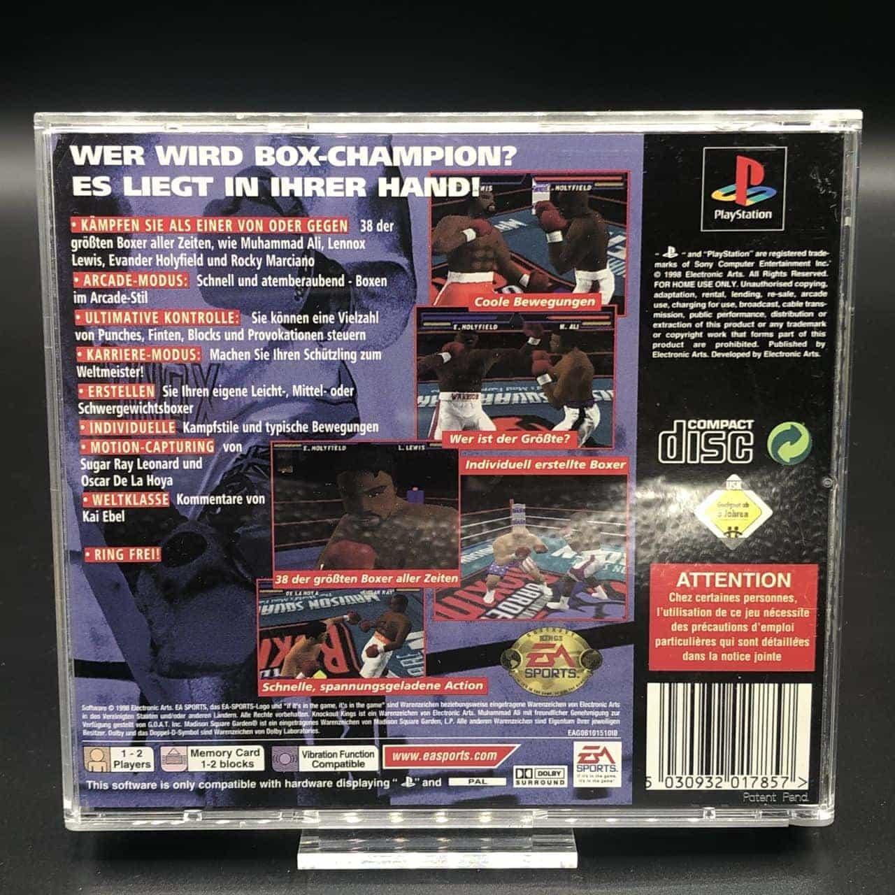PS1 Box Champions (Komplett) (Sehr gut) Sony PlayStation 1