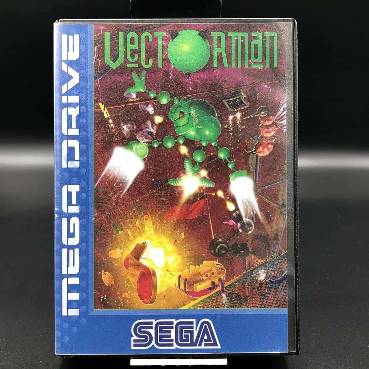 Vectorman (ohne Anleitung) (Sehr gut) Sega Mega Drive