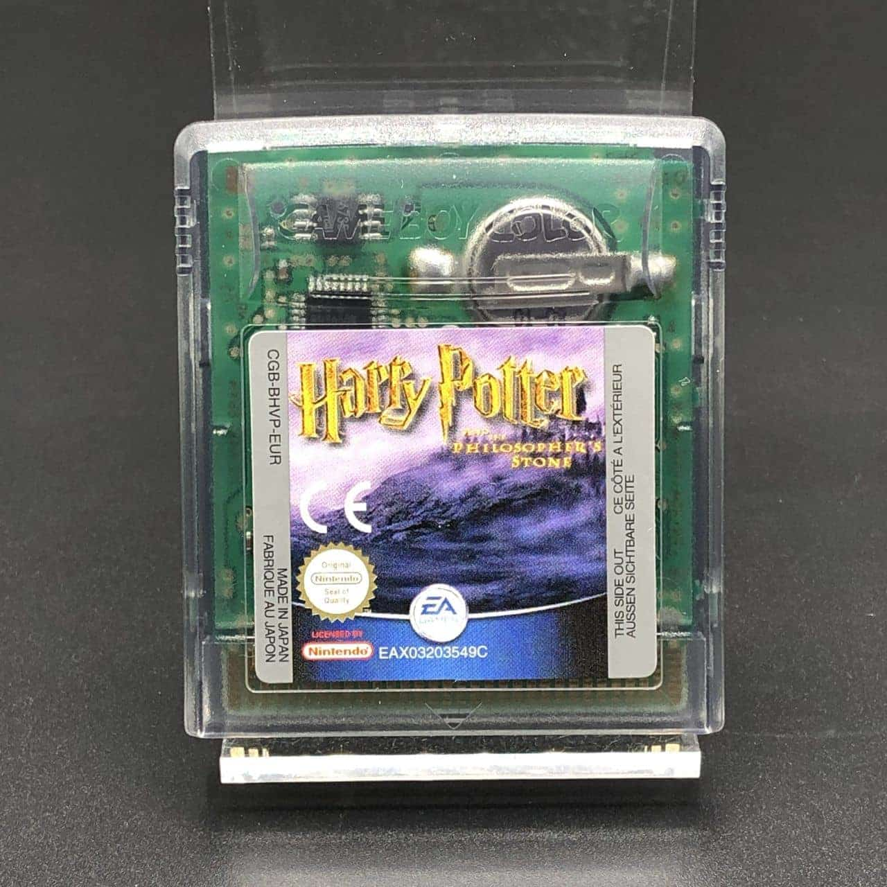 GBC Harry Potter and the Philosophers Stone (Modul) (Sehr gut) Nintendo Game Boy Color