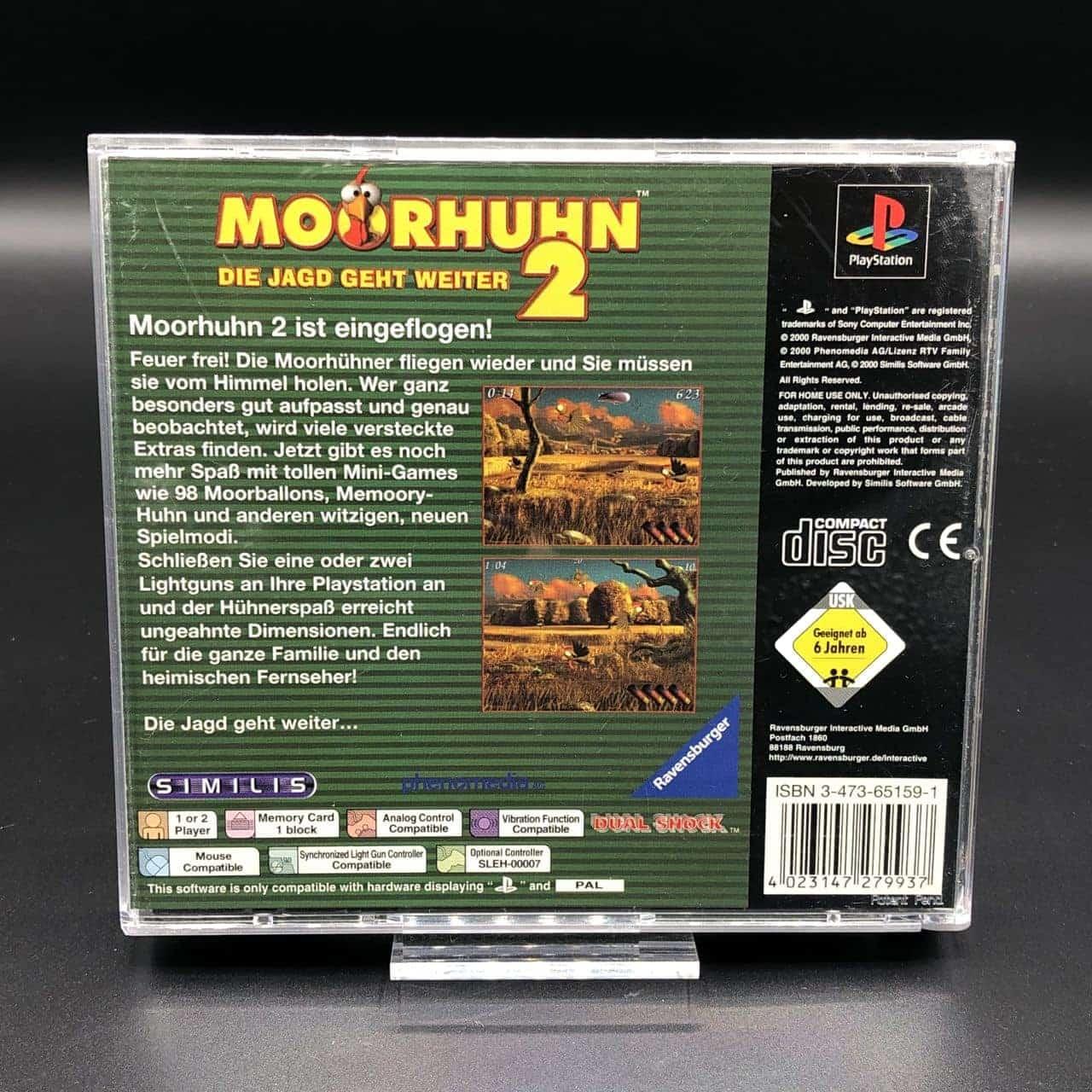 PS1 Moorhuhn 2 (Komplett) (Sehr gut) Sony PlayStation 1