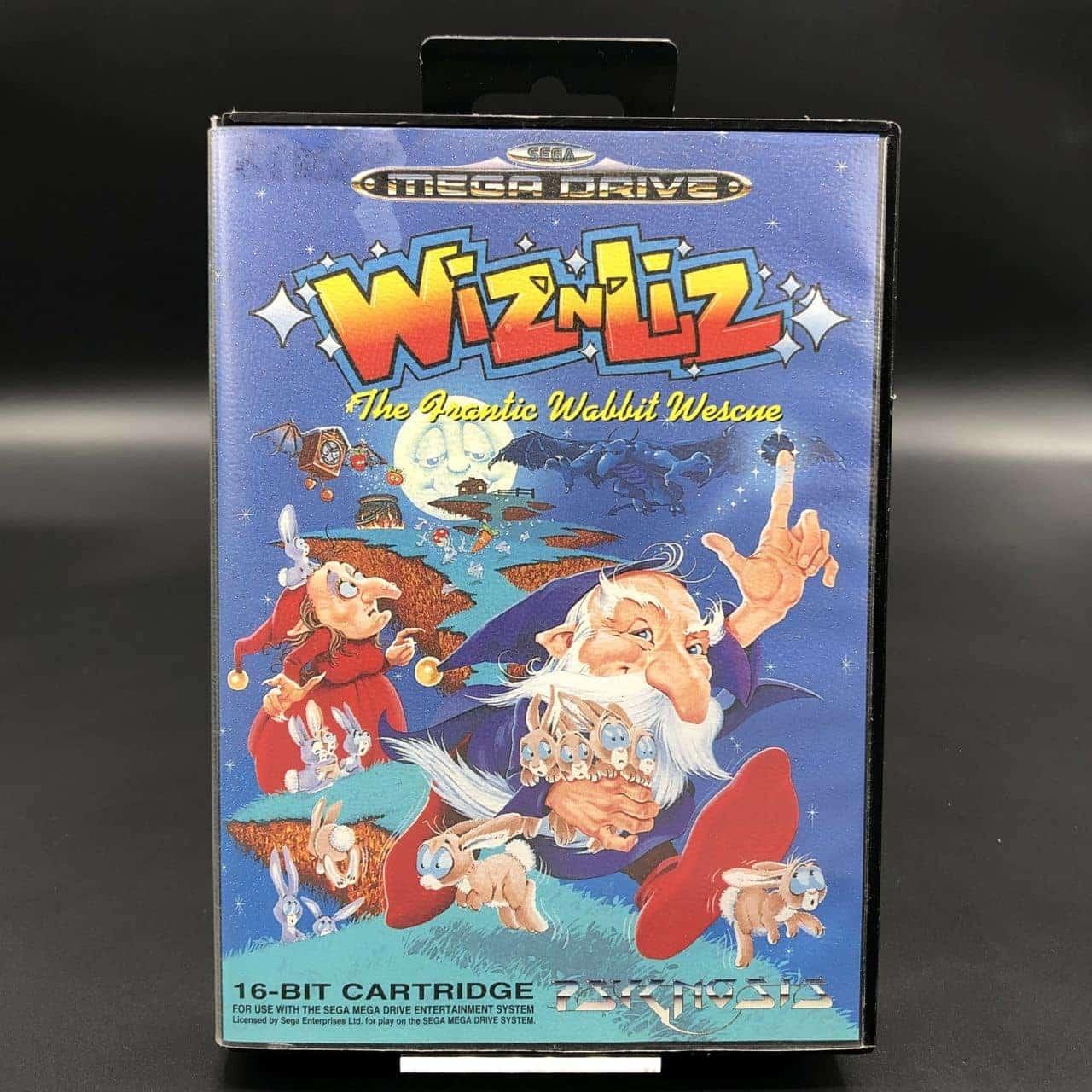 Wiz n Liz: The Frantic Wabbit Wescue (Komplett) (Sehr gut) Sega Mega Drive