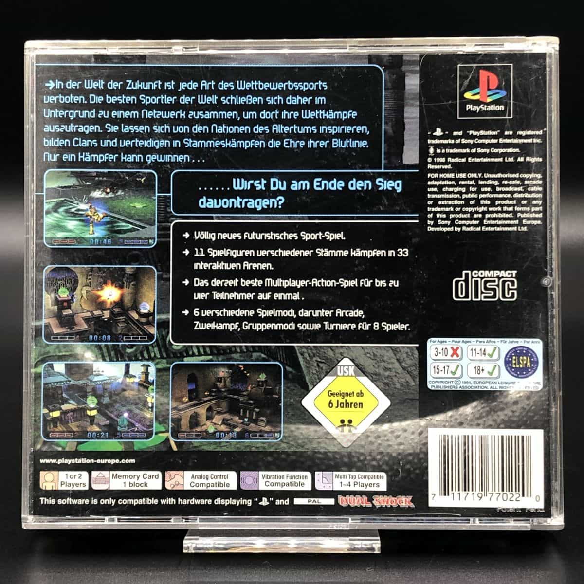PS1 Blood Lines (Komplett) (Gut) Sony PlayStation 1