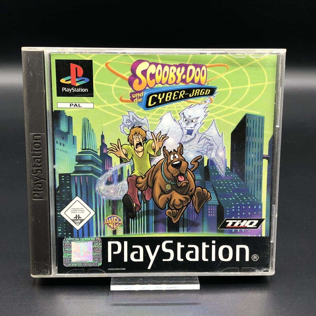 PS1 Scooby-Doo und die Cyber Jagd (Komplett) (Gut) Sony PlayStation 1