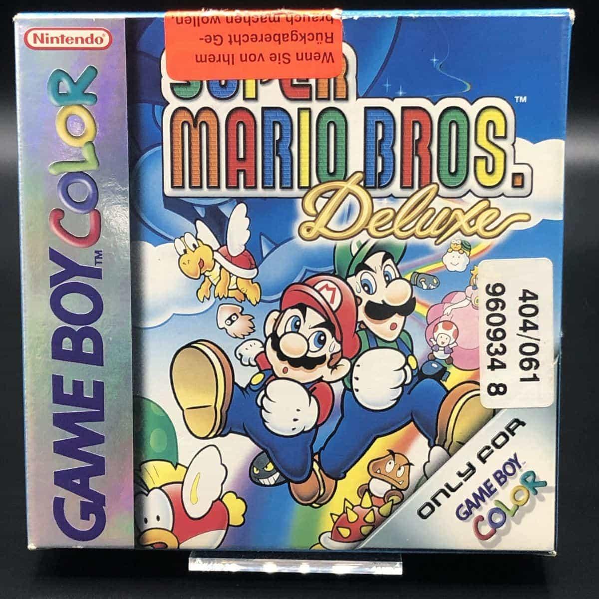 GBC Super Mario Bros. Deluxe (Komplett) (Gut) Nintendo Game Boy Color
