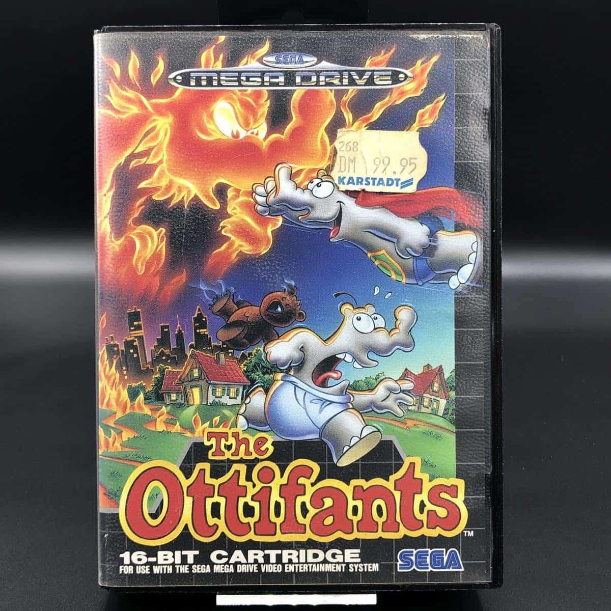 The Ottifants (ohne Anleitung) (Gut) Sega Mega Drive