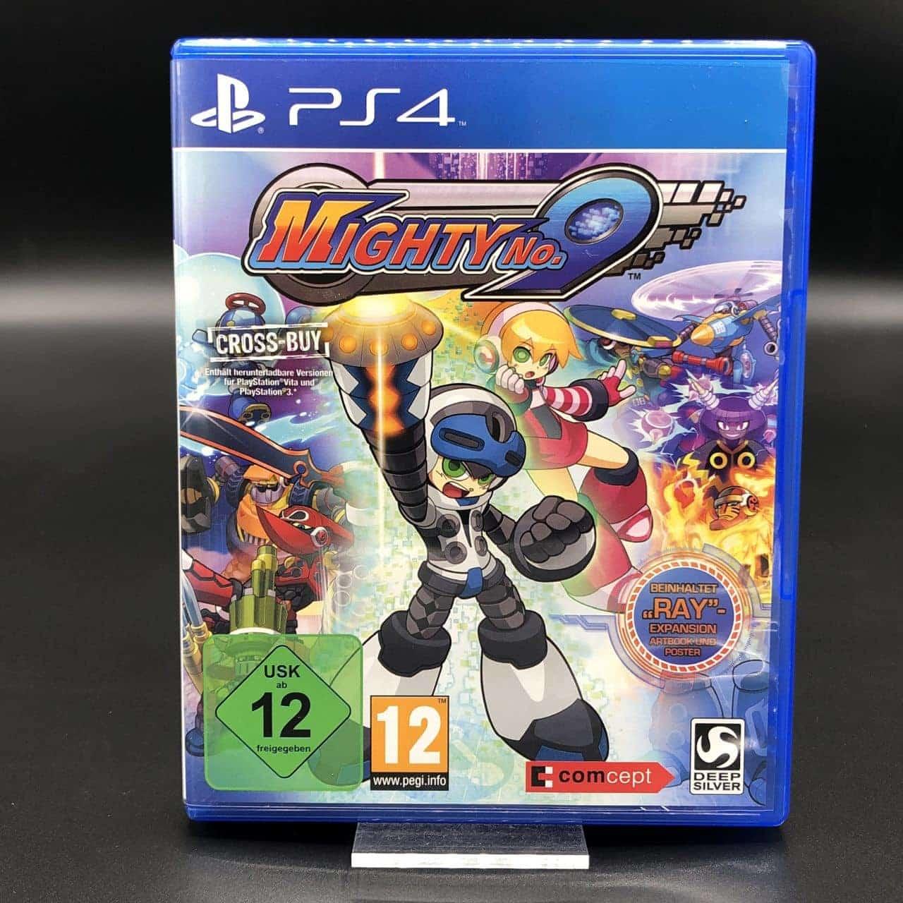 PS4 Mighty No. 9 (Komplett) (Sehr gut) Sony PlayStation 4