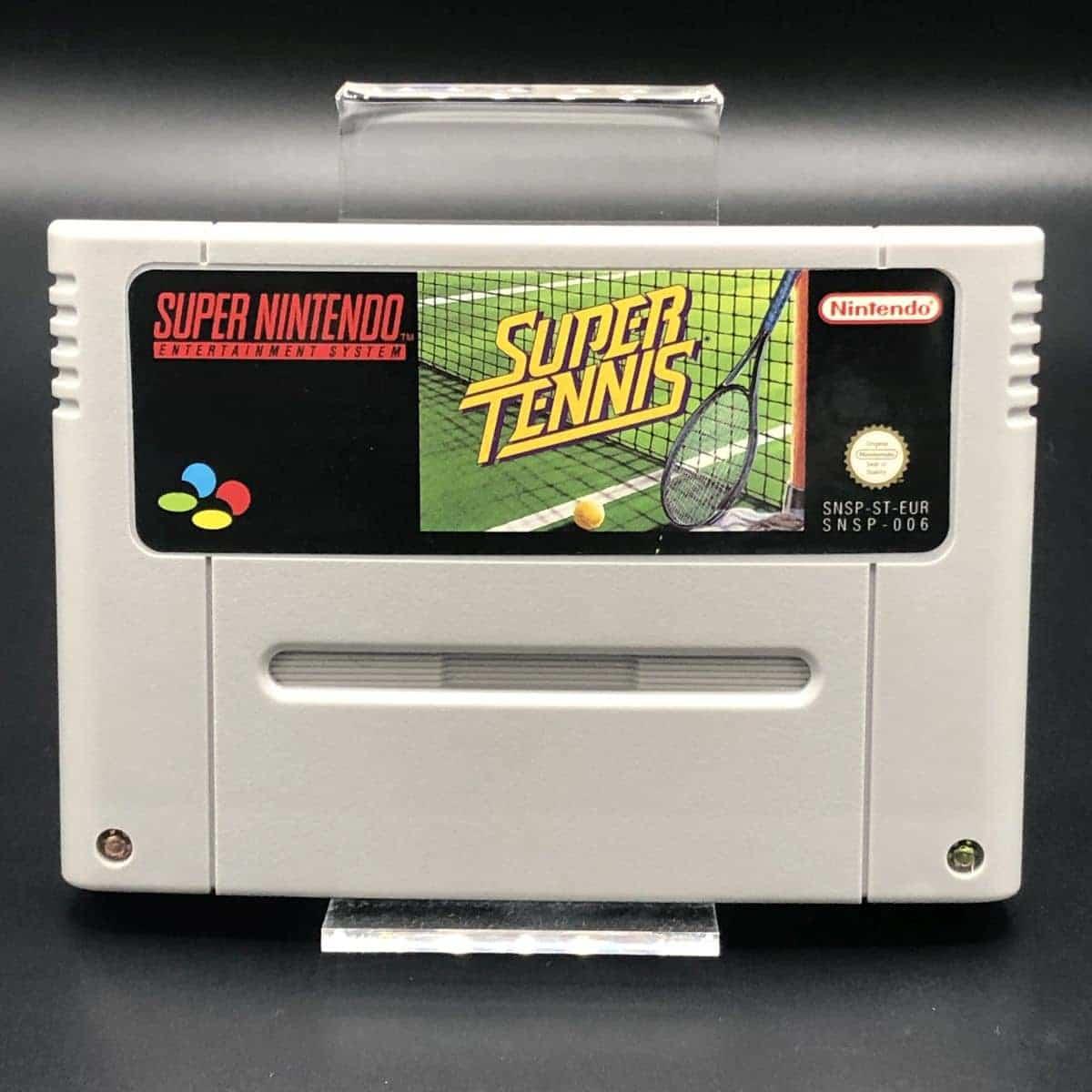 SNES Super Tennis (Komplett) (Gut) Super Nintendo