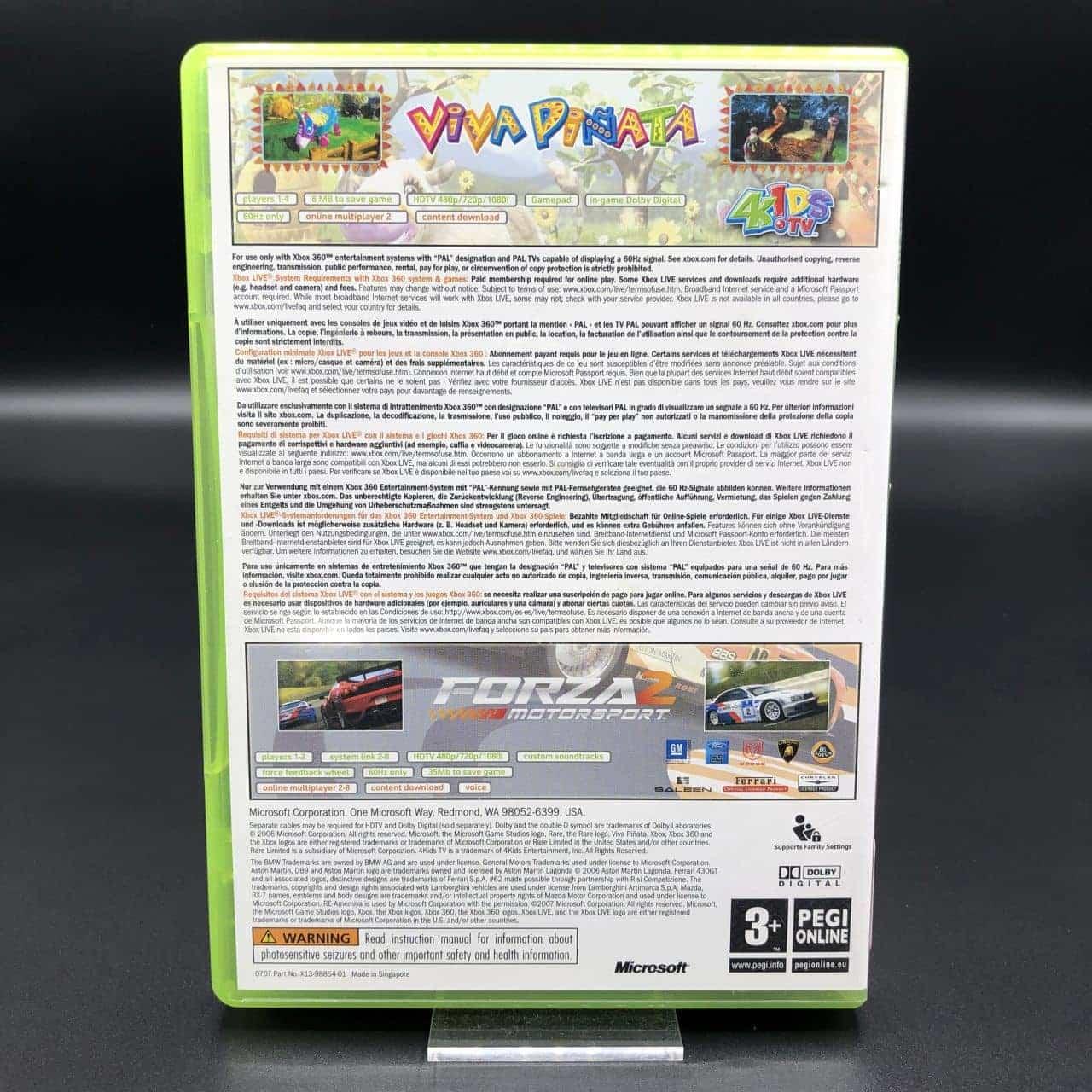 Viva Pinata + Forza Motorsport 2 (Komplett) (Gut) Xbox 360