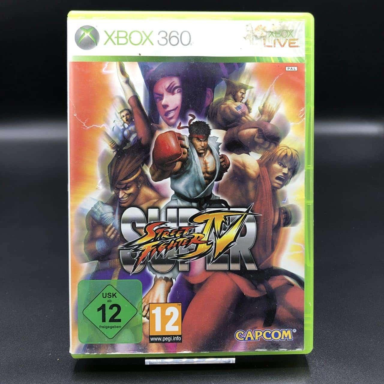 Super Street Fighter IV (ohne Anleitung) (Gut) XBOX 360