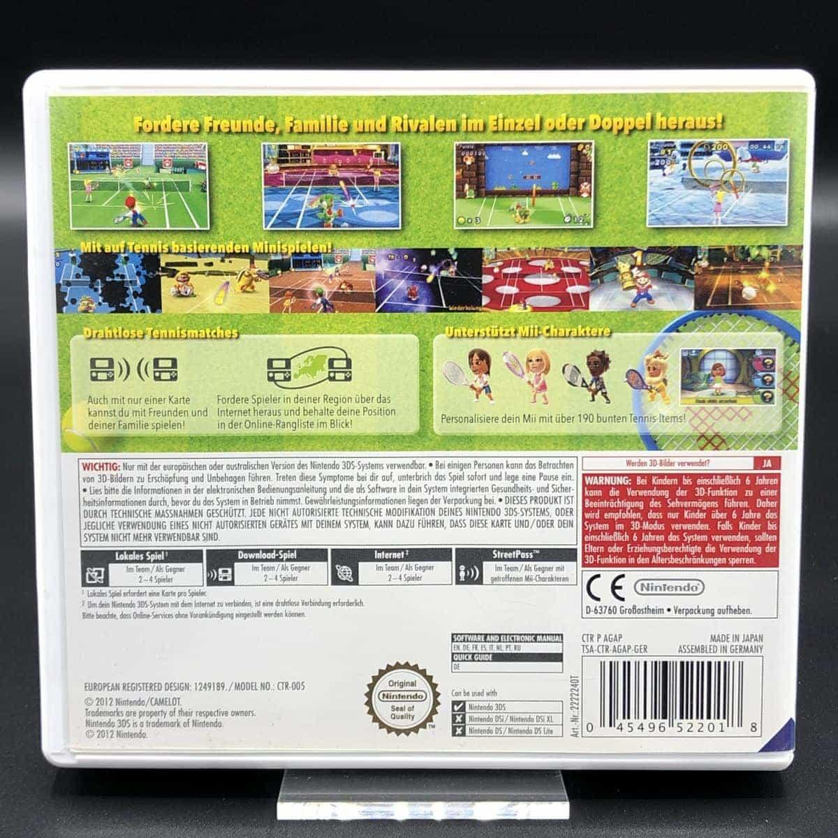 Mario Tennis Open (ohne Anleitung) (Sehr gut) Nintendo 3DS