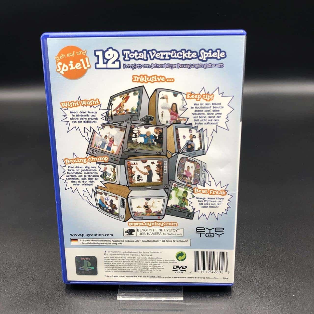 PS2 EyeToy: Play (Komplett) (Gebrauchsspuren) Sony PlayStation 2