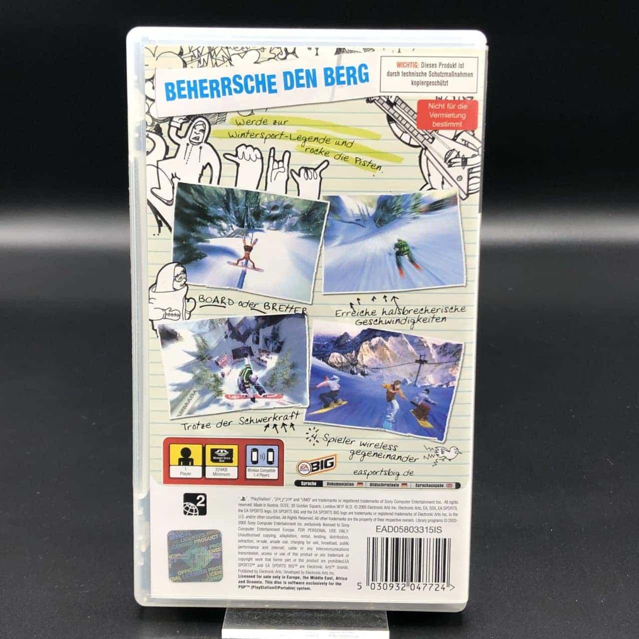 PSP SSX on Tour (Komplett) (Gut) Sony PlayStation Portable