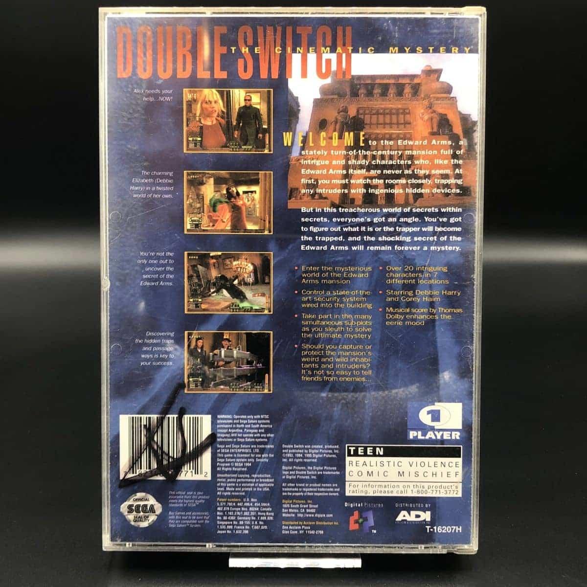 Double Switch (Import) (Komplett) (Sehr gut) Sega Saturn