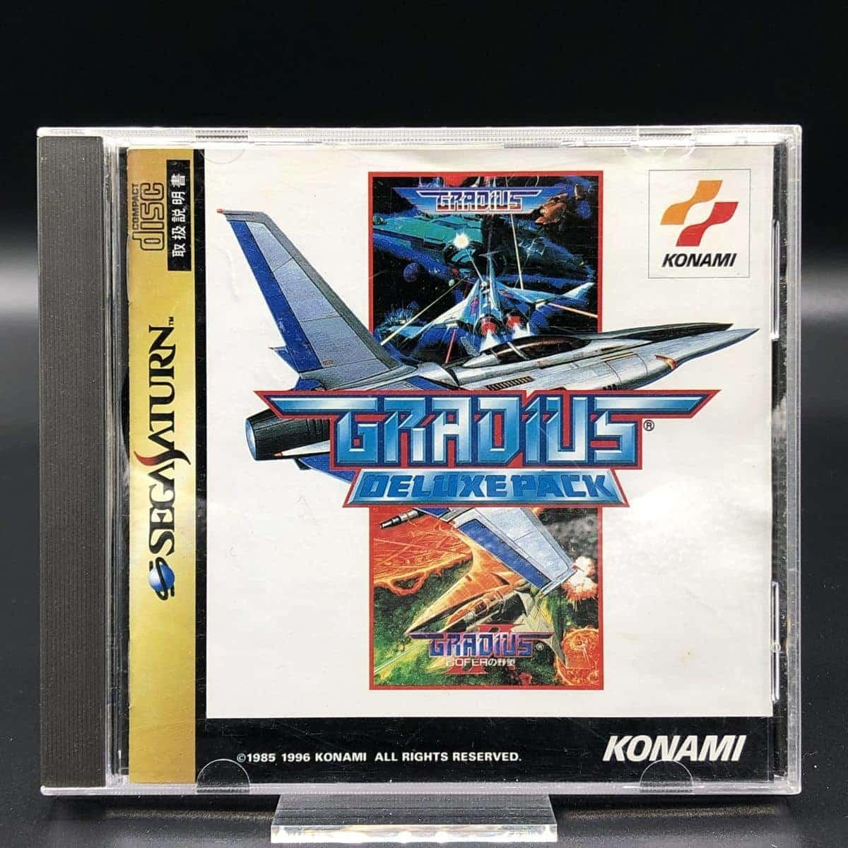 Gradius Deluxe Pack (Import Japan) (Komplett mit Spine) (Sehr gut) Sega Saturn