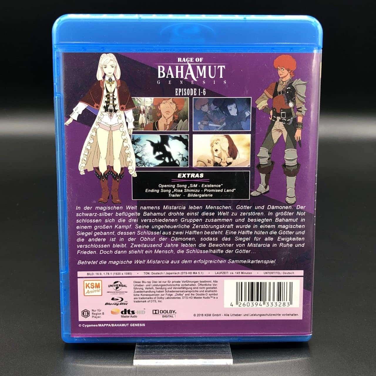Rage of Bahamut Genesis 1 (Blu-Ray) (Sehr gut) Anime