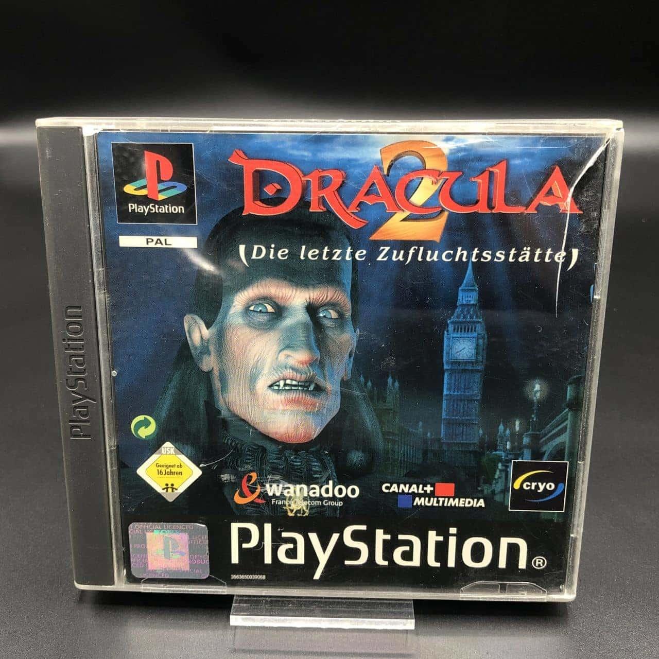 PS1 Dracula 2: Die letzte Zufluchtsstätte (Komplett) (Gut) Sony PlayStation 1