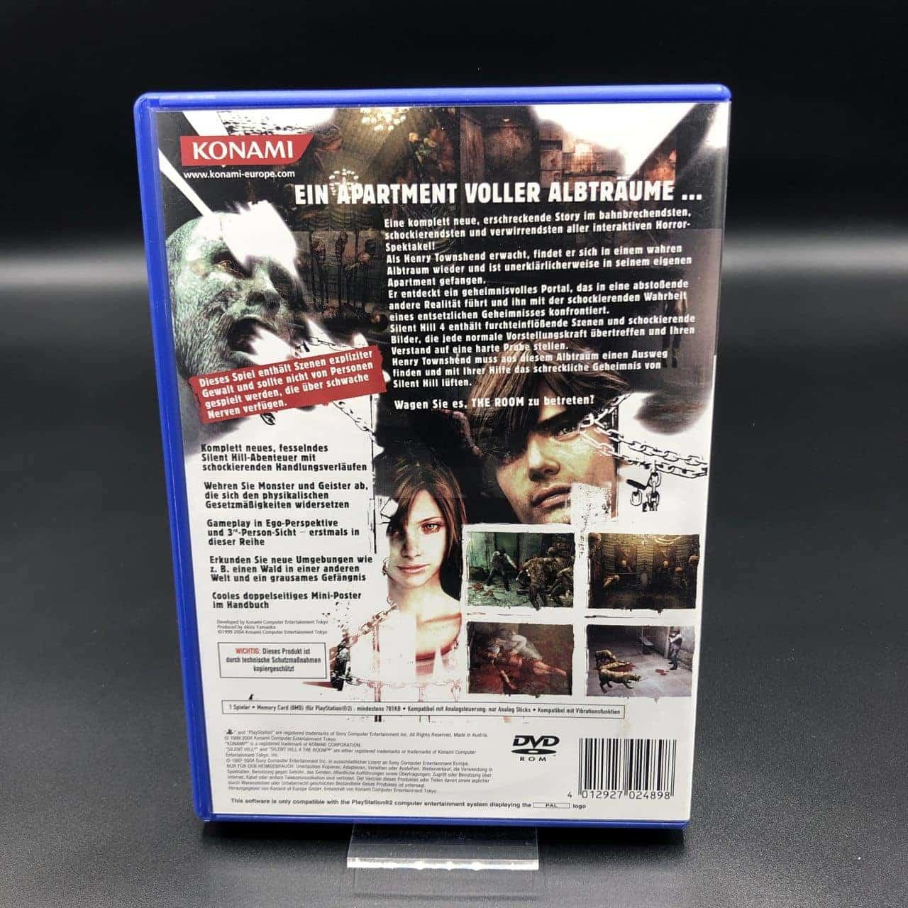 PS2 Silent Hill 4: The Room (Komplett) (Gut) Sony PlayStation 2 (FSK18)