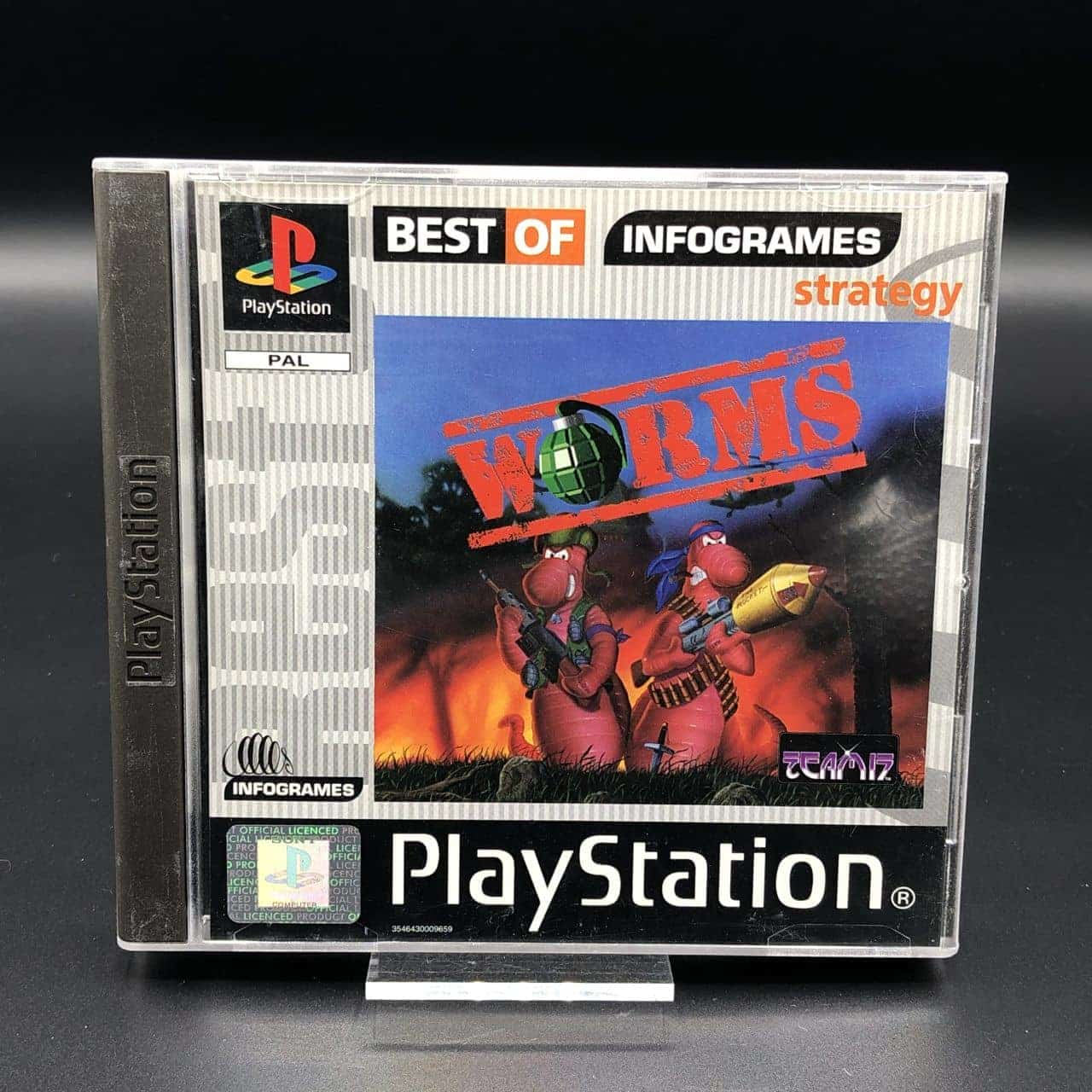 PS1 Worms (Best of Infogrames) (Komplett) (Sehr gut) Sony PlayStation 1