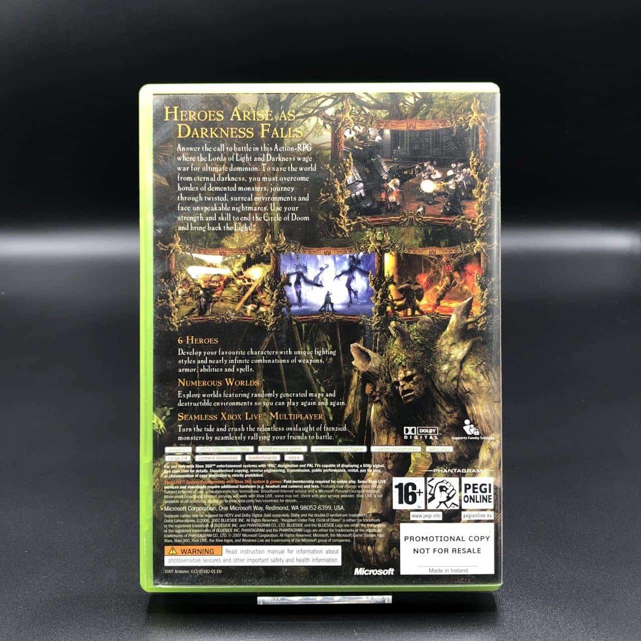 Kingdom Under Fire: Circle of Doom (Promo) (Komplett) (Sehr gut) XBOX 360