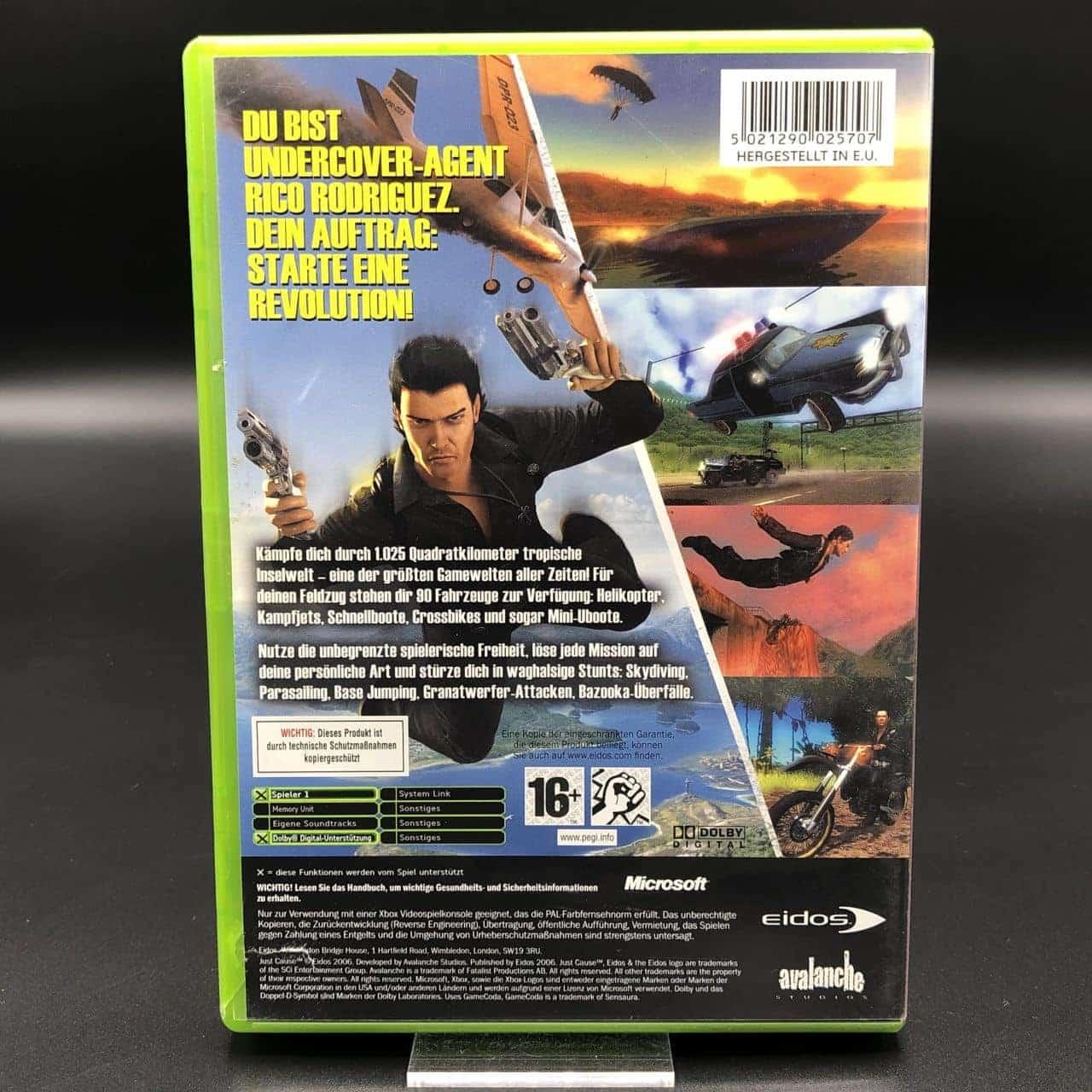 XBC Just Cause (Komplett) (Sehr gut) Microsoft Xbox Classic