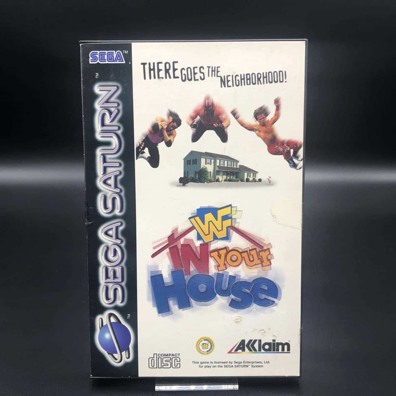 WWF In Your House (Komplett) (Gut) Sega Saturn
