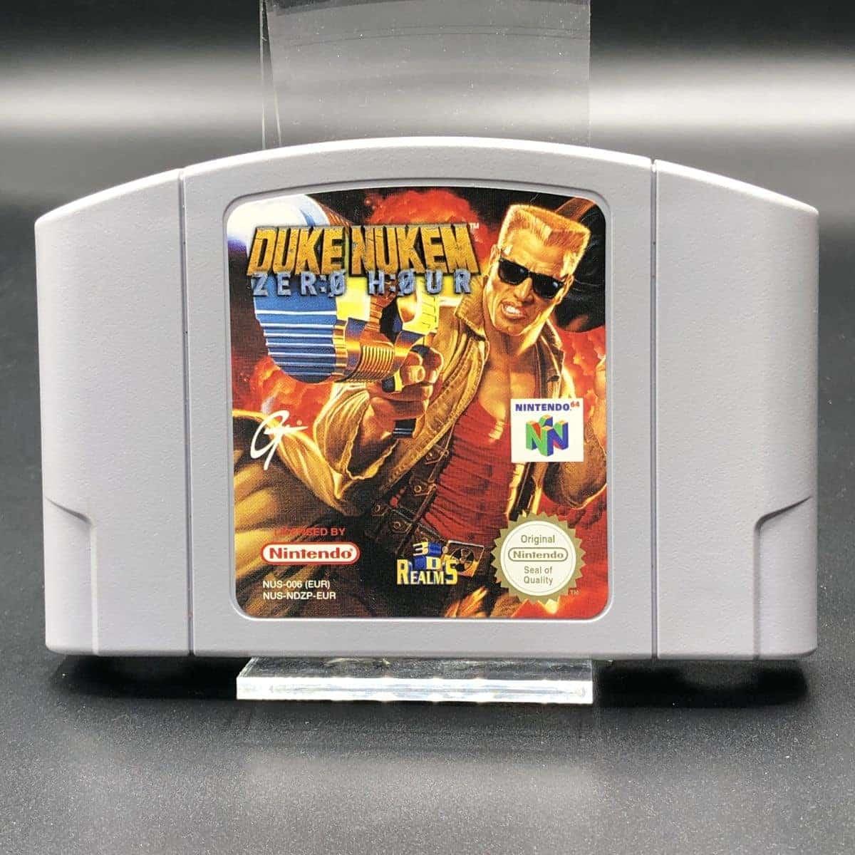 N64 Duke Nukem: Zero Hour (Komplett) (Sehr gut) Nintendo 64