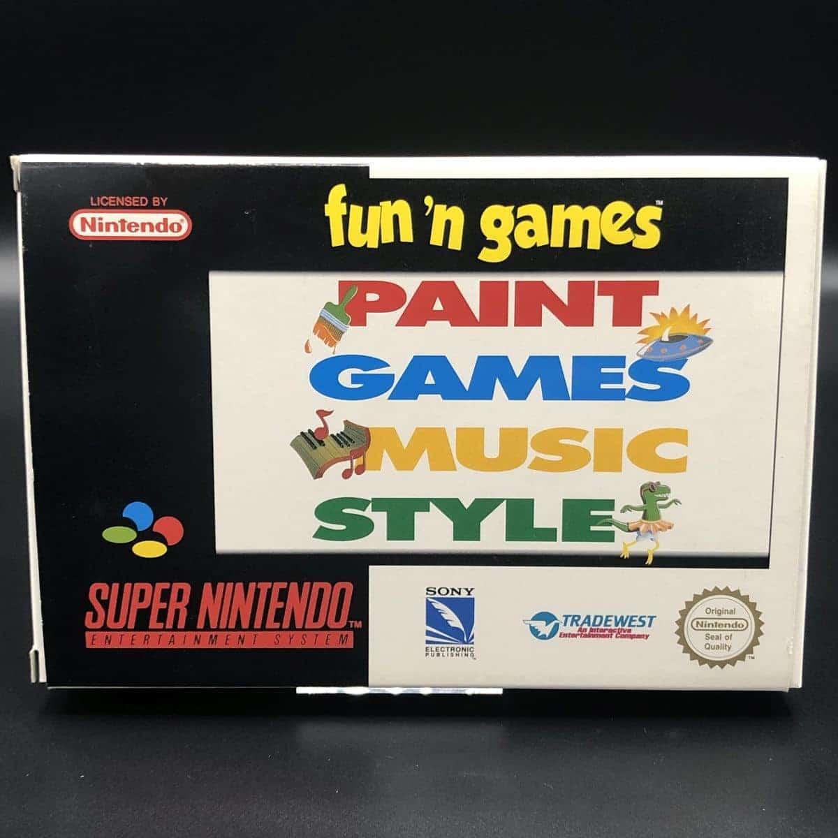 SNES Fun 'n Games (Komplett) (Sehr gut) Super Nintendo