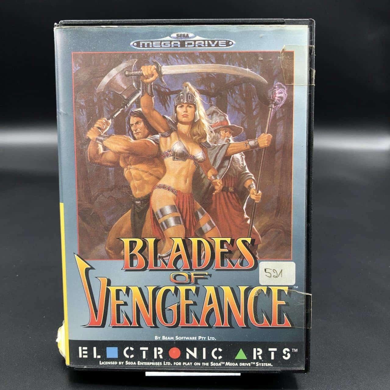 Blades of Vengeance (Komplett) (Gebrauchsspuren) Sega Mega Drive