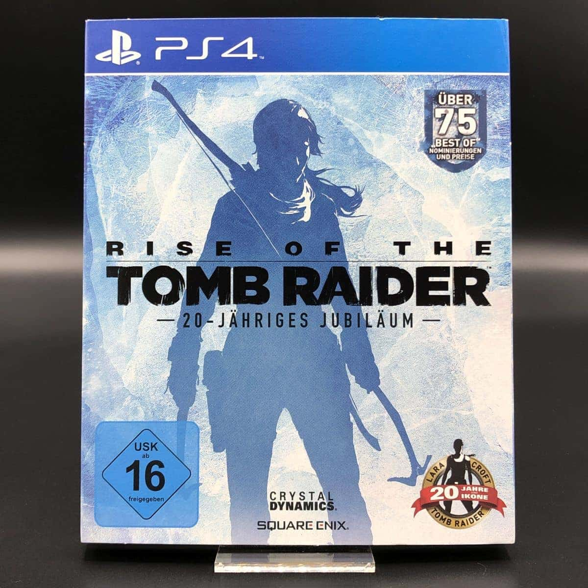 PS4 Rise of the Tomb Raider (20th Anniversary Celebration) (Komplett) (Sehr gut)
