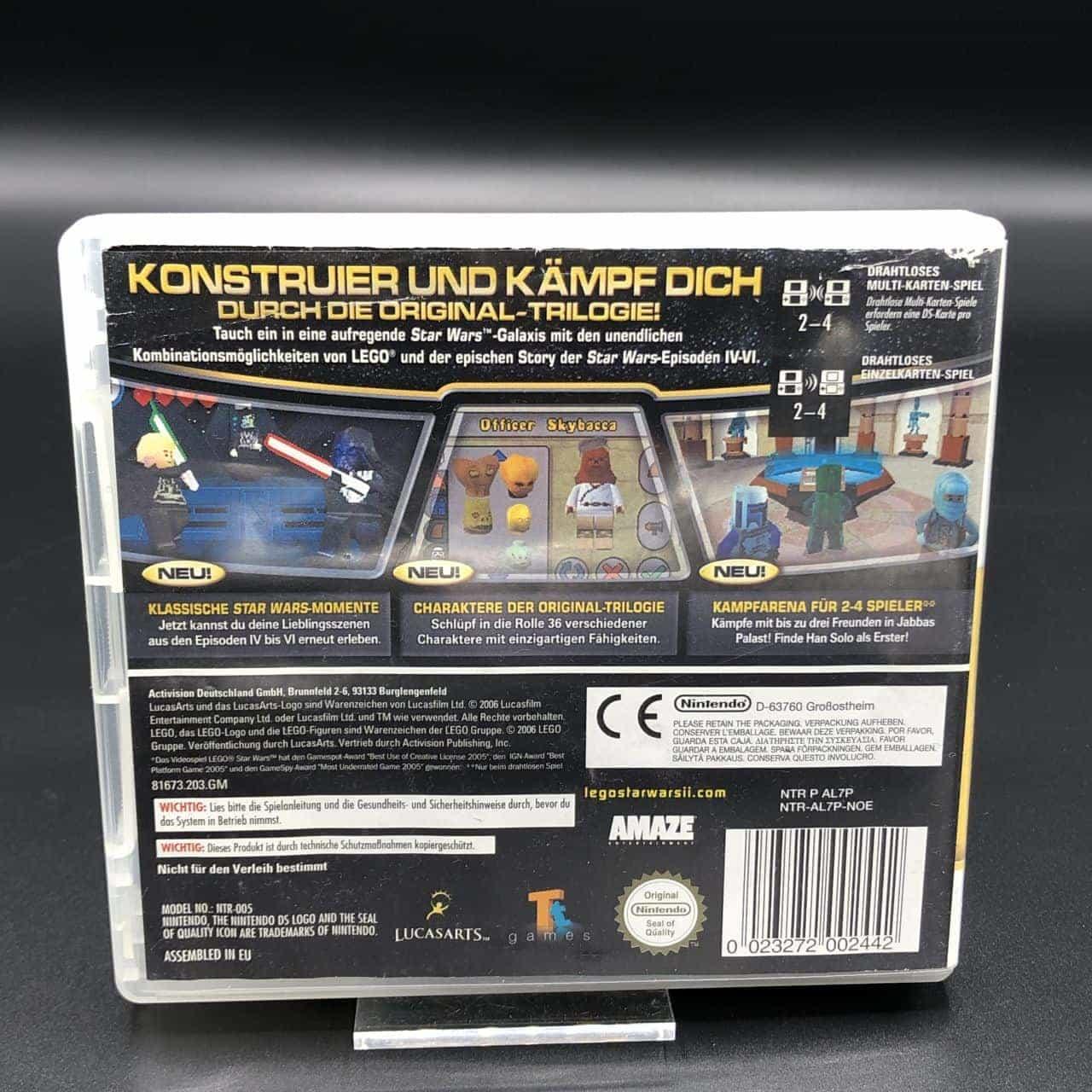 Lego Star Wars II: Die Klassische Trilogie (Komplett) (Gebrauchsspuren) Nintendo DS