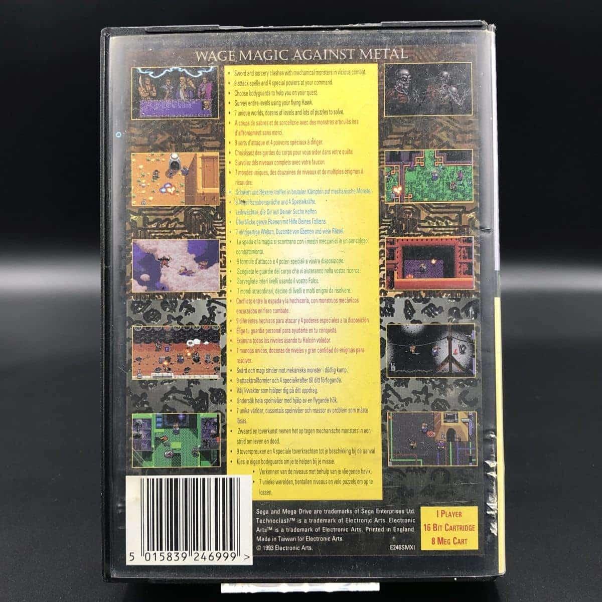 Technoclash (ohne Anleitung) (Gut) Sega Mega Drive