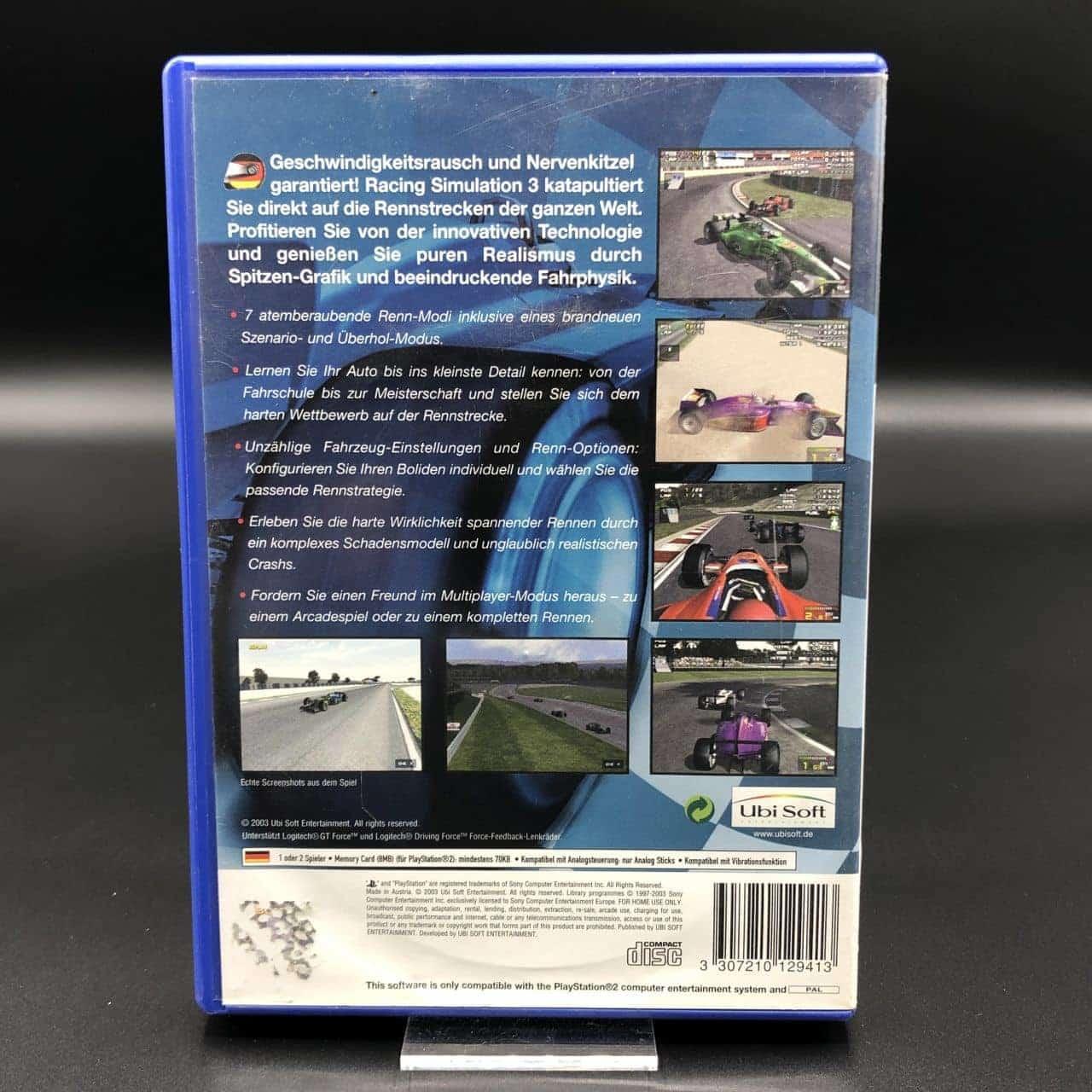 PS2 RS3: Racing Simulation Three (Komplett) (Gebrauchsspuren) Sony PlayStation 2