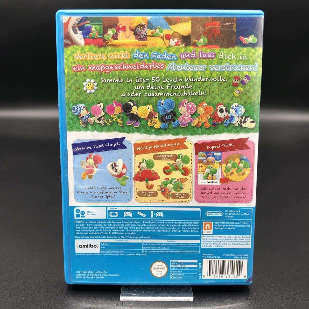Yoshi's Woolly World (Sehr gut) Nintendo WiiU