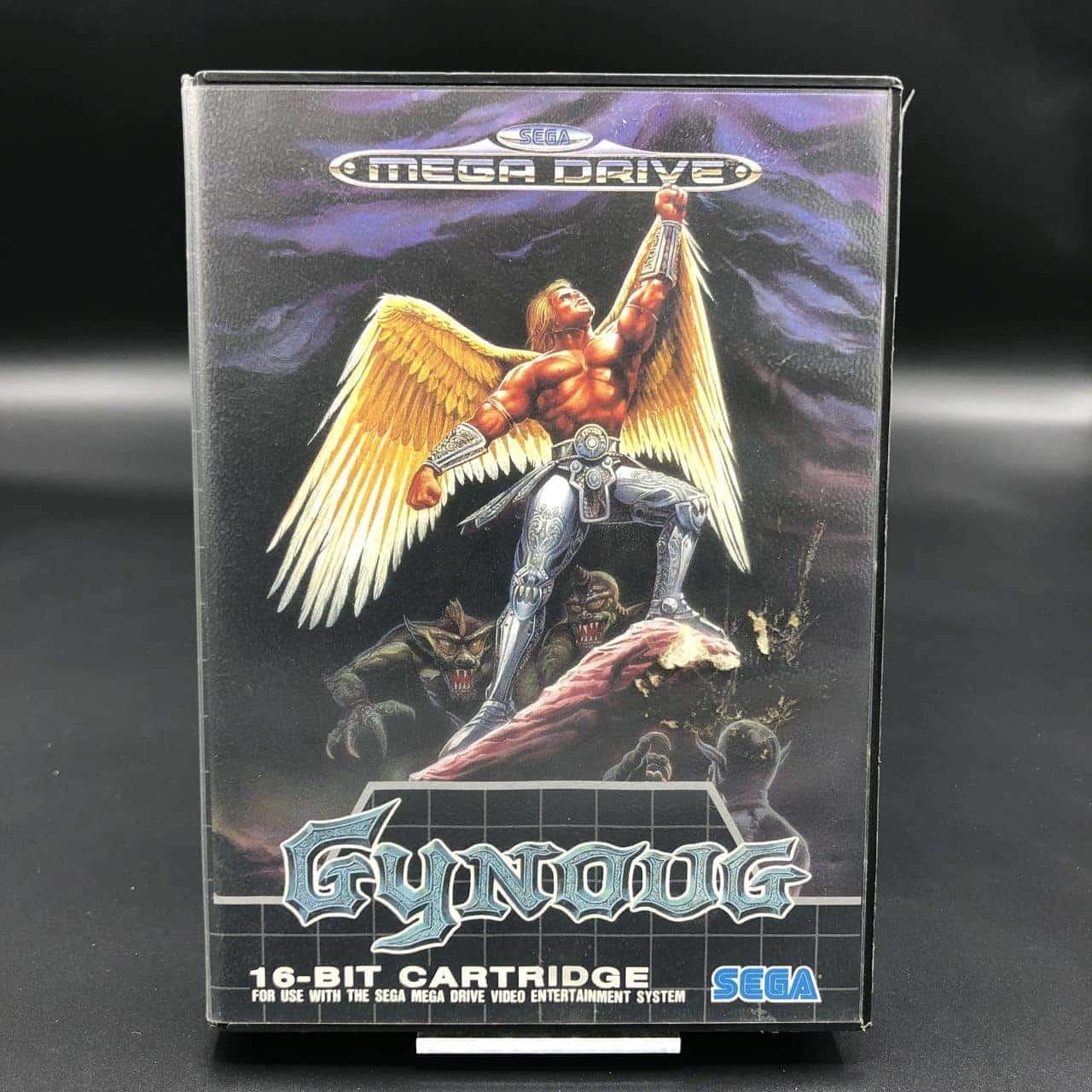 Gynoug (Komplett) (Gut) Sega Mega Drive