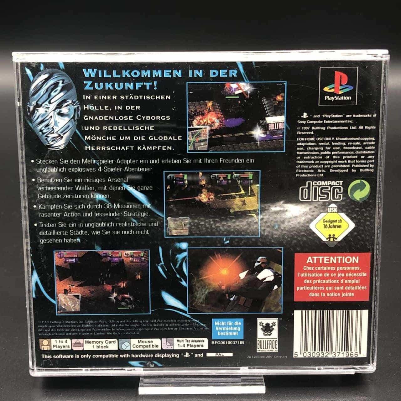 PS1 Syndicate Wars (Komplett) (Gebrauchsspuren) Sony PlayStation 1