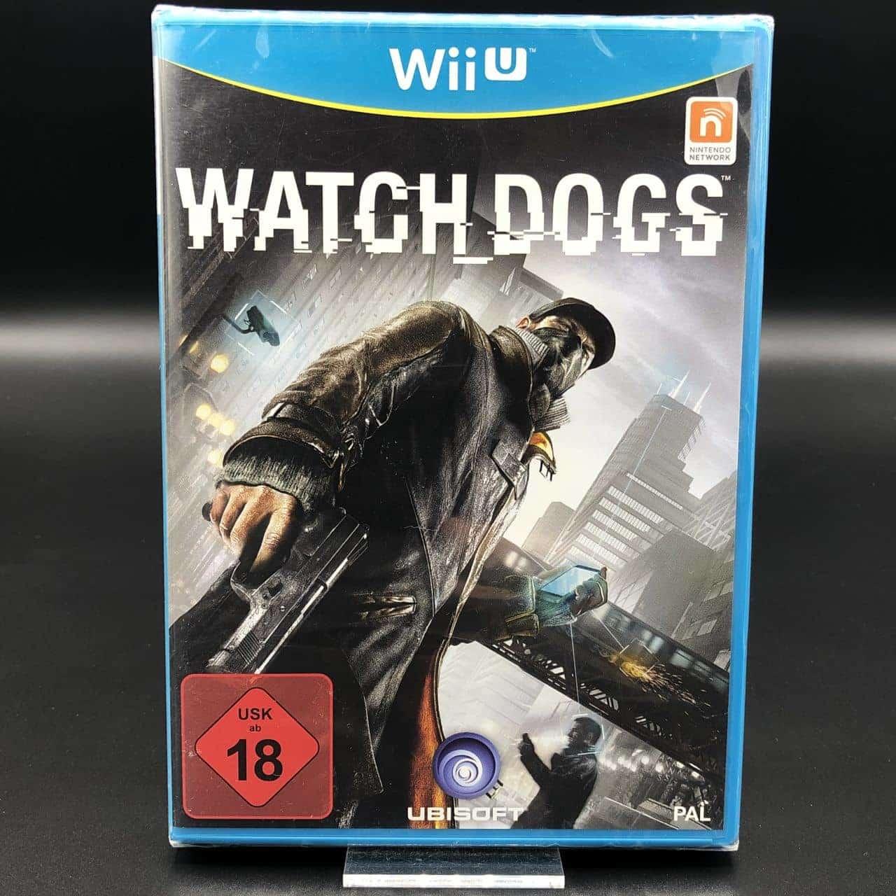 Watch Dogs (NEU) Nintendo WiiU (FSK18)