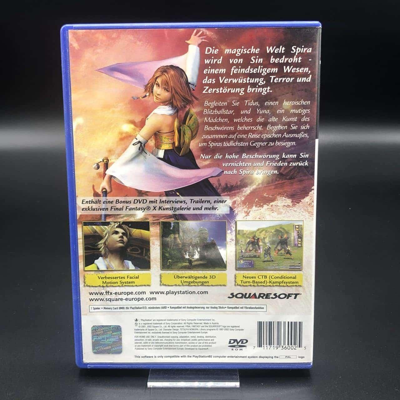 PS2 Final Fantasy X (Komplett) (Gebrauchsspuren) Sony PlayStation 2