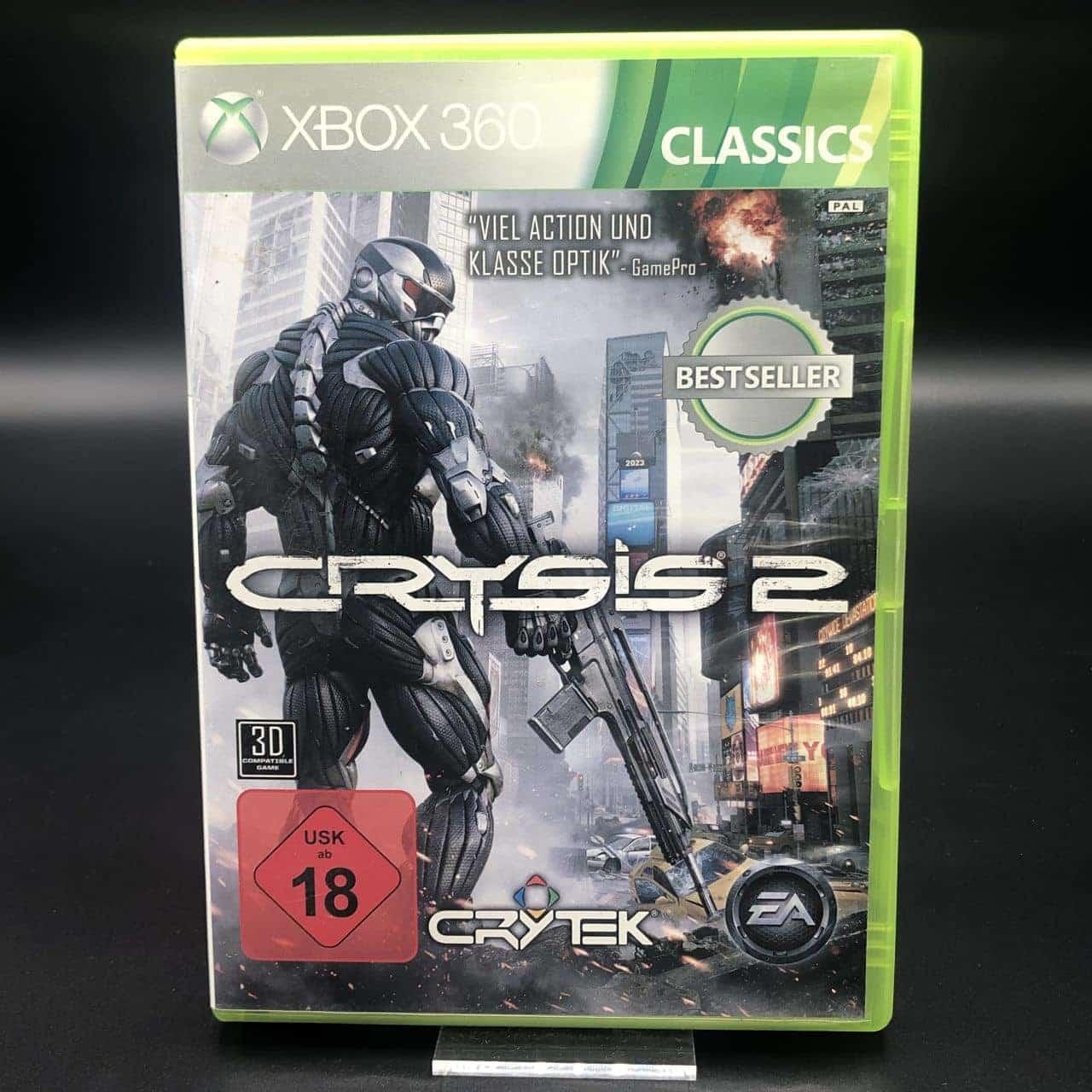 Crysis 2 (Classics) (Komplett) (Gut) XBOX 360 (FSK18)
