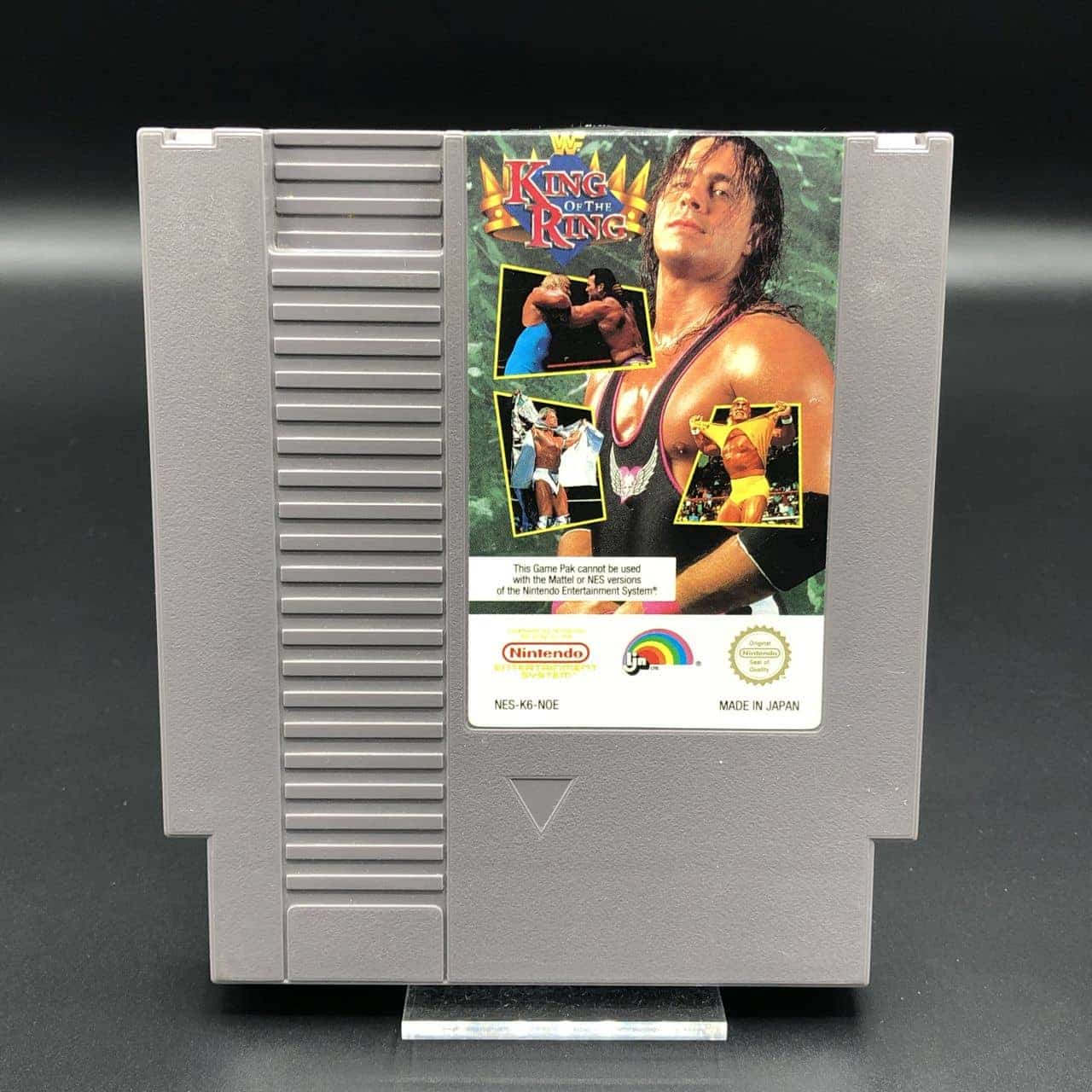 NES WWF King of the Ring (Modul) (Gut) Nintendo Entertainment System