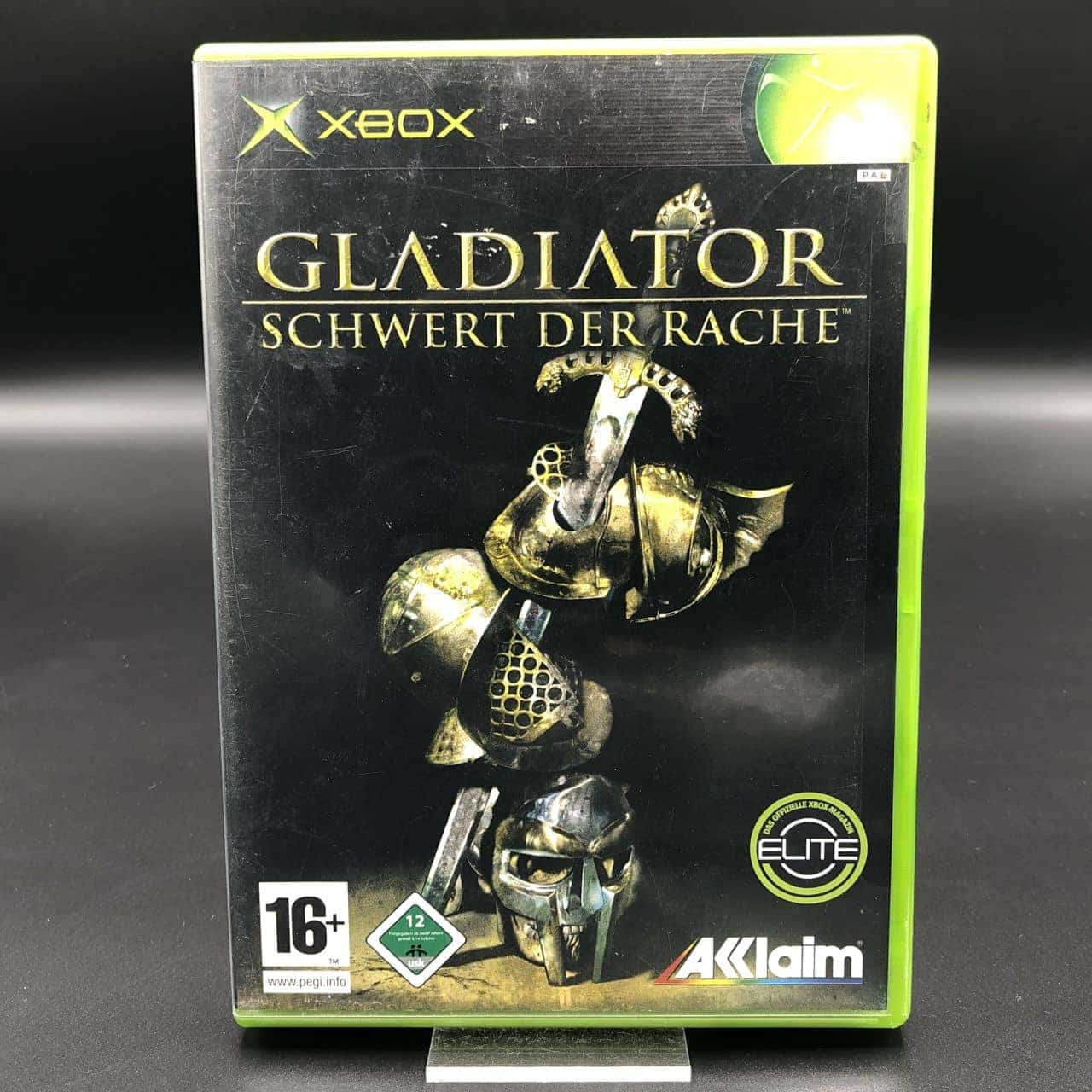 XBC Gladiator: Schwert der Rache (Komplett) (Gut) Microsoft Xbox Classic