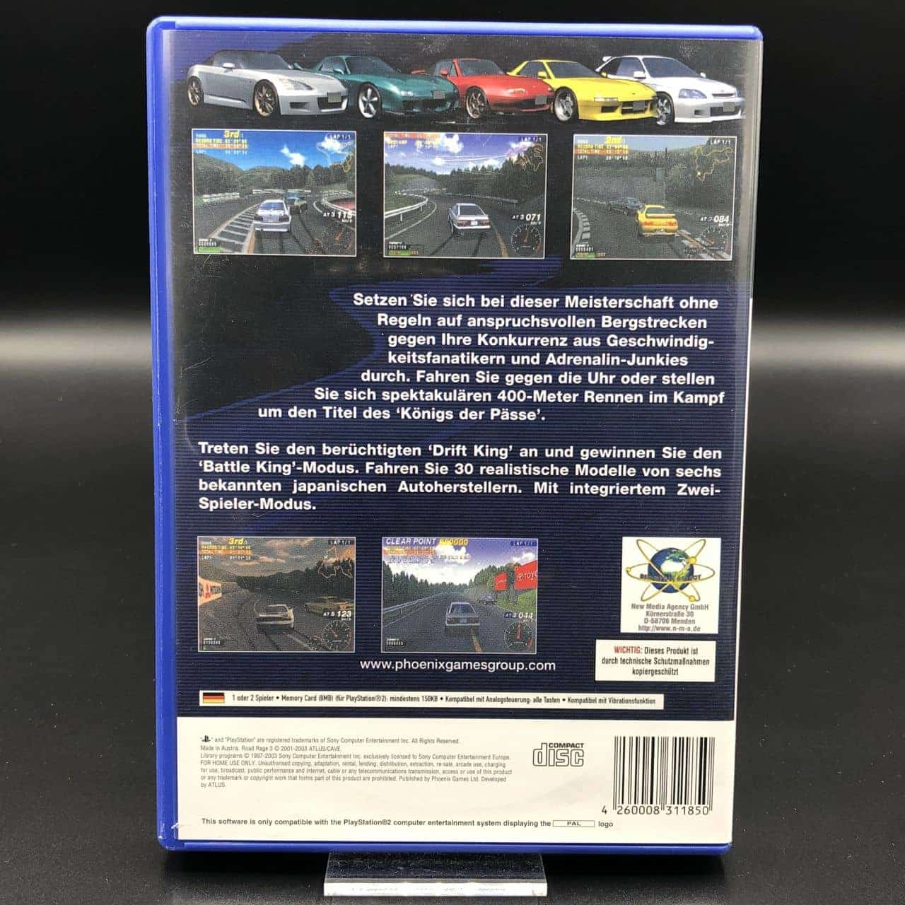 PS2 Road Rage 3 (Komplett) (Sehr gut) Sony PlayStation 2