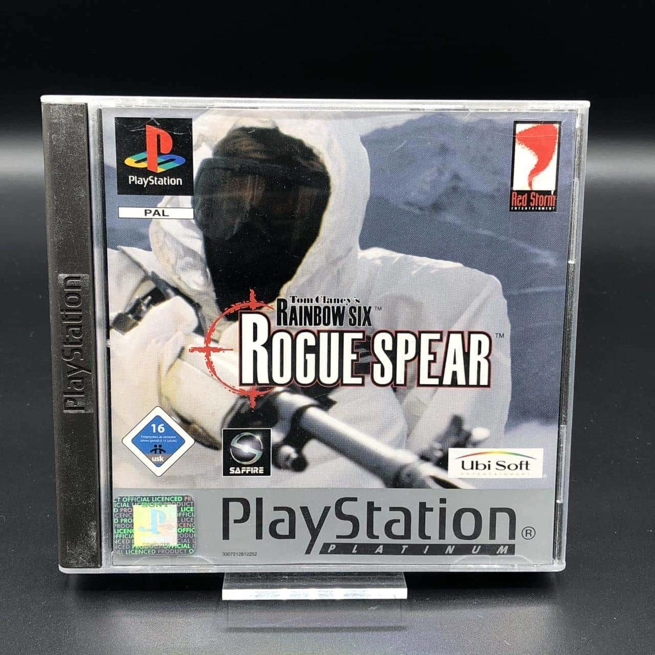 PS1 Tom Clancy's Rainbow Six: Rogue Spear (Platinum) (Komplett) (Sehr gut) Sony PlayStation 1