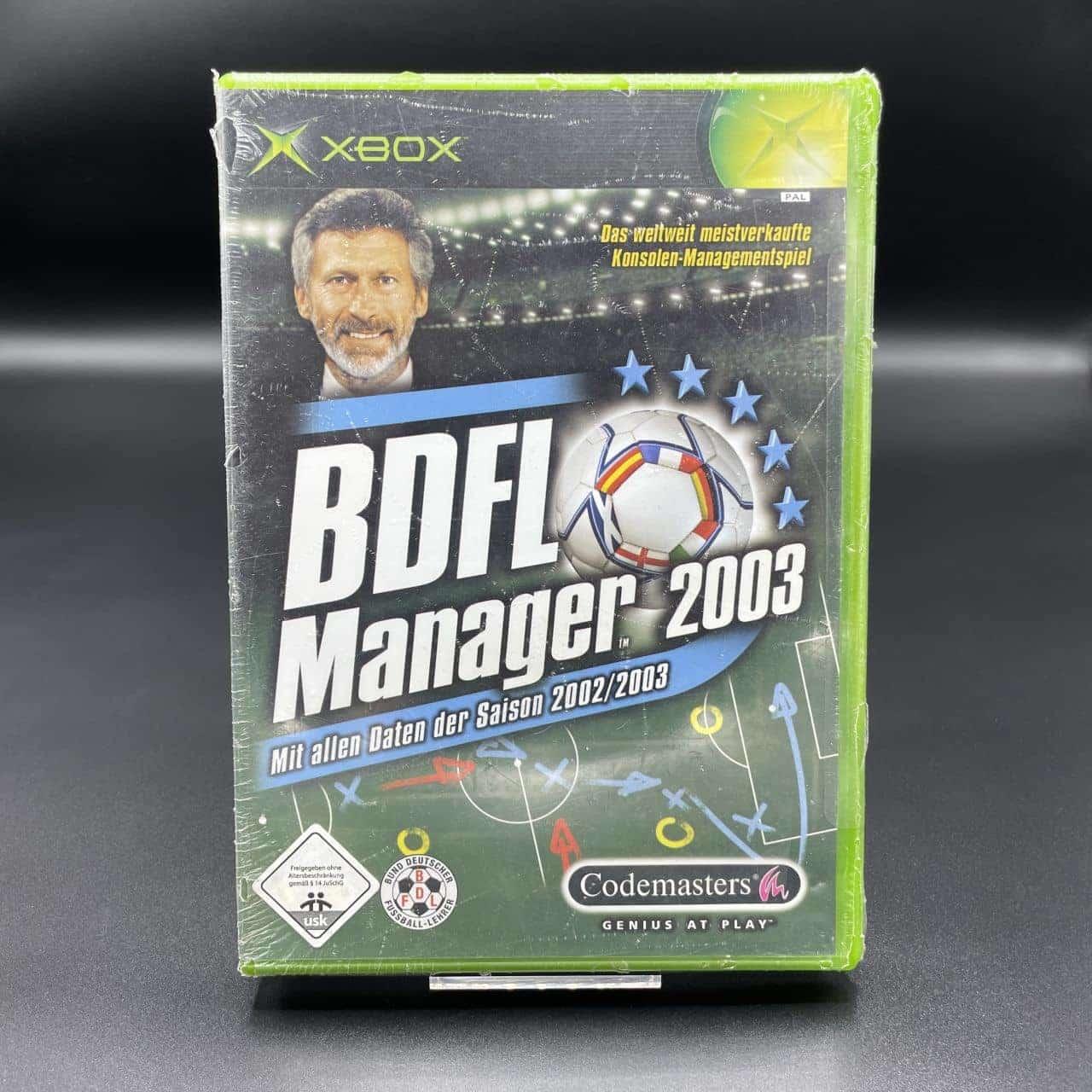 XBC BDFL Manager 2003 (Neu) Microsoft Xbox Classic