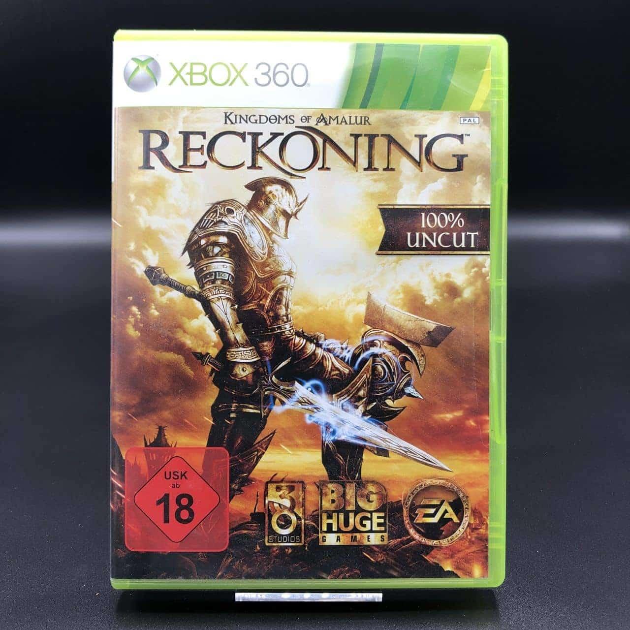 Kingdoms of Amalur: Reckoning (ohne Anleitung) (Gut) XBOX 360 (FSK18)