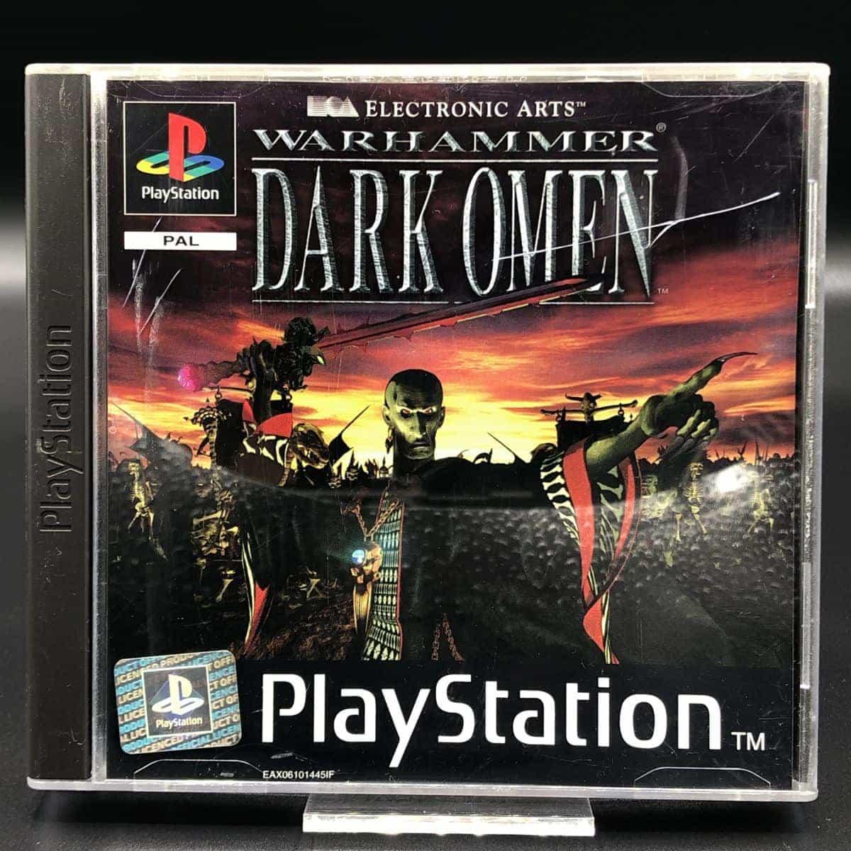 PS1 Warhammer: Dark Omen (Komplett) (Sehr gut) Sony PlayStation 1